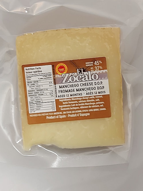 Manchego Cheese Zocalo  Cured 12 Months, 240gr
