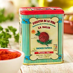 La Dalia Smoked Hot Paprika 75gr