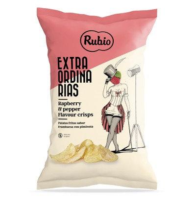 Extraordinarias Potato Chips Rapberry Flavoured