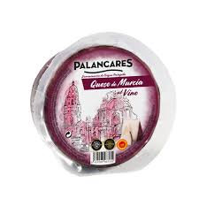 Goat Milk Cheese Palancares soaked in Red Wine DOP Murcia , 160g