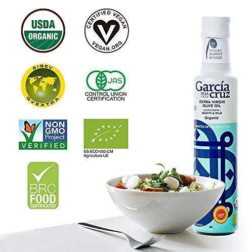 Organic Cornicabra EVOO Garcia de la Cruz 250Ml