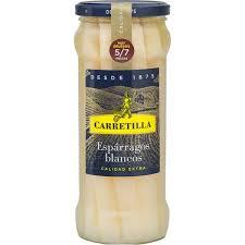 Carretilla White Asparagus 5/7 540gr
