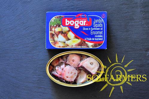 Jumbo Squid Slices