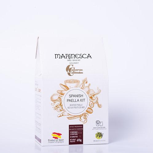 Spanish Seafood Paella Kit By Conservas Cambados