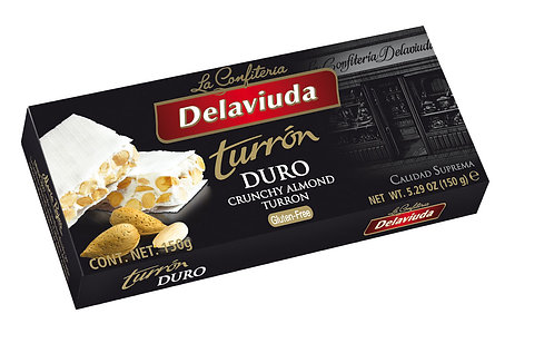 Delaviuda Turron Duro Crunchy 150gr