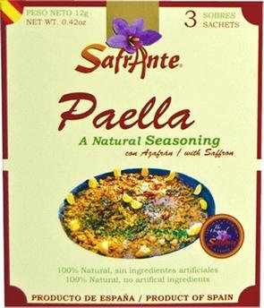 Paellero Safrante Traditional spice blend with safron 12g