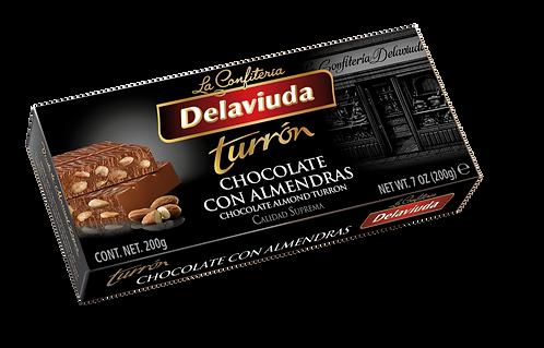 Delaviuda Chocolate Turron 200Gr