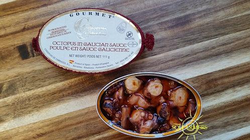 Gourmet Octopus in Galician Sauce