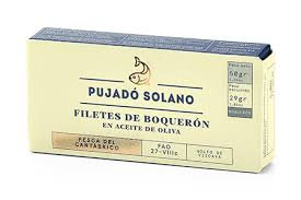 White Anchovies (Boquerones de Santoña) Cured in Vinegar and Packed in Oil 50gr