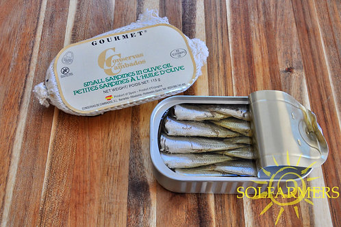 Gourmet Small Sardines in Olive Oil