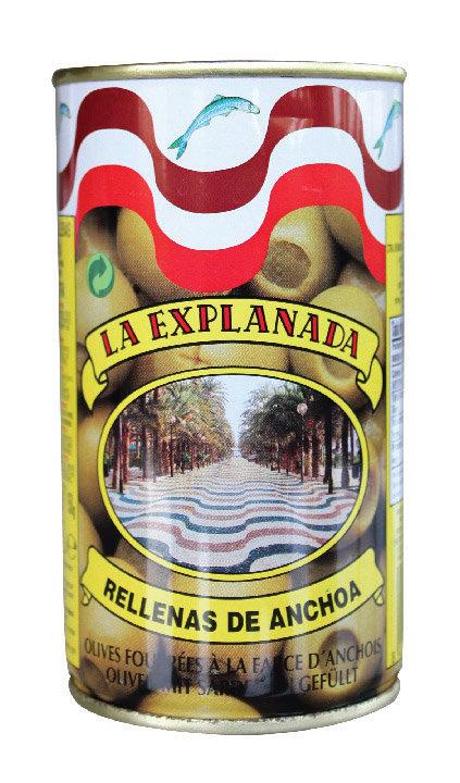 Anchovy Stuffed Olives La Explanada 250Ml