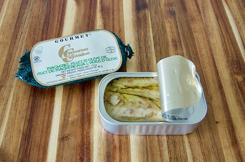 Mackerel Fillet in Olive Oil