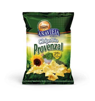 Organic Potato Chips in Sunflower Oil ''Provenzal''