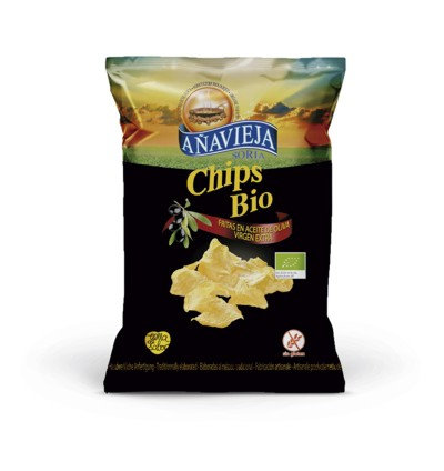 Organic Potato Chips in Extra Virgin Olive Oil ''Gran Gourmet''