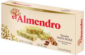 El Almendro Walnut Cream   turron 250gr