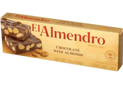 El Almendro Chocolate Turron 100g