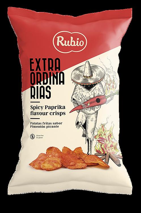 Extraordinarias Potato Chips Spicy Paprika Flavour