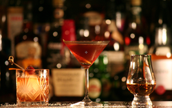 Exeter cocktail service, bartenders