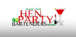 Hen party cocktail service hire.