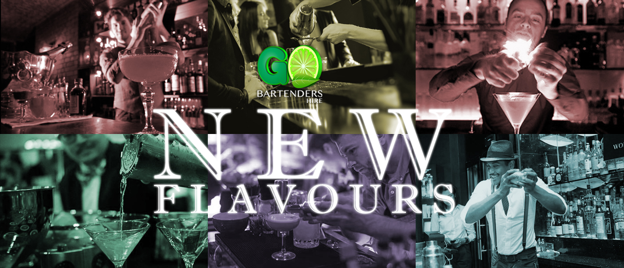 New Flavours in cocktails