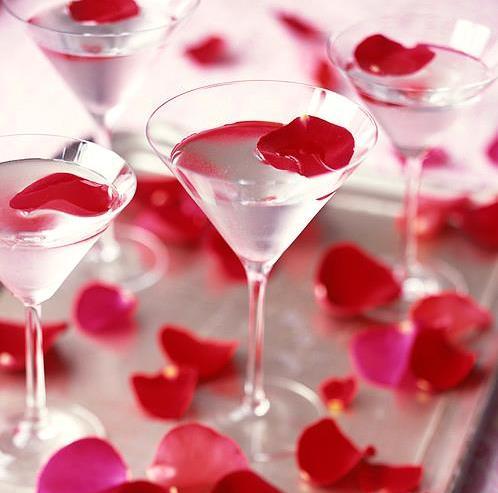 Rose Petal Martini.