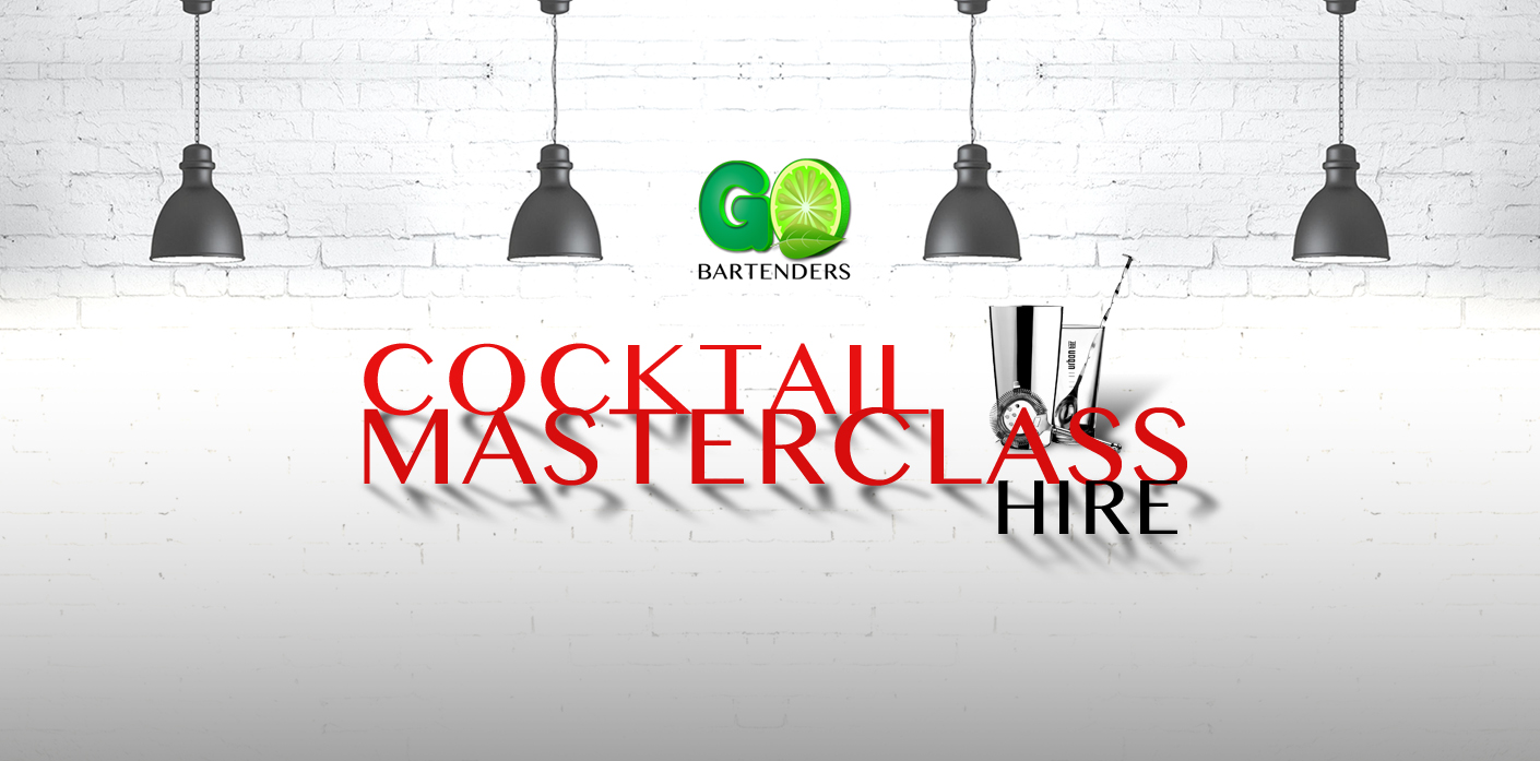 hire a cocktail making class banner