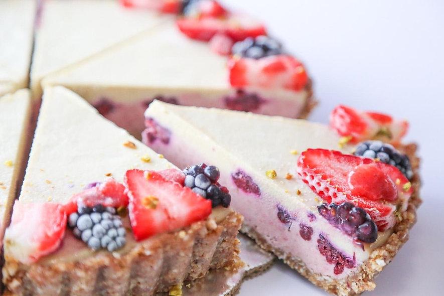 FROZEN Strawberry Keylime Cheesecake