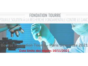 Bourse Fondation Tourre – Paris