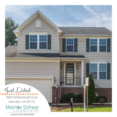 Just Listed Home on Private Cul-De-Sac in Herndon