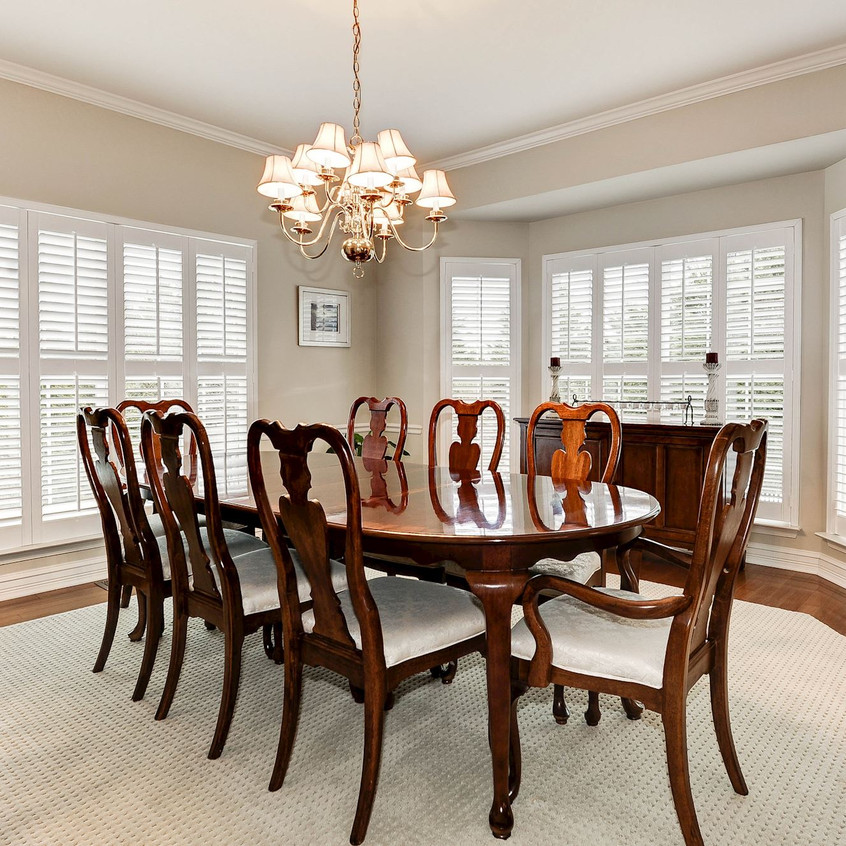Dining Room w/Plantation Shutters
