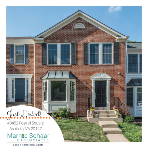 Completely Updated Ashburn Farm Brick Front 3 Bed, 3.5BA, Townhome
