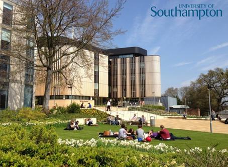 全英國唯一一所達到最高5星等級學術教育研究的南安普敦大學University of Southampton