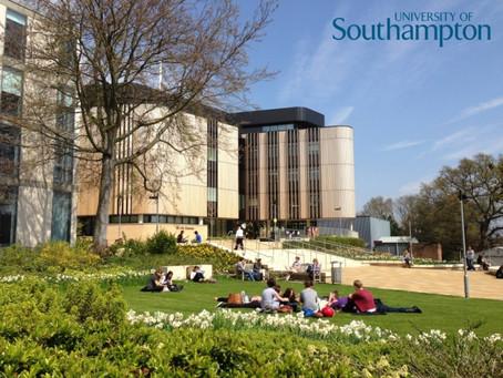 全英國唯一一所達到最高5星等級學術評鑑的南安普敦大學University of Southampton