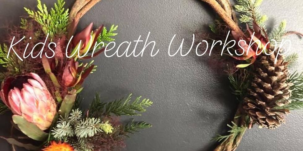 Kids Christmas Wreath Workshop