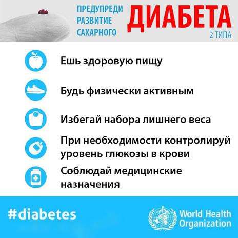 Предупреди развитие сахарного диабета