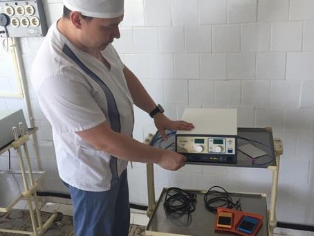 В хирургическом отделении Зарайской ЦРБ введен в эксплуатацию новый высокотехнологичный аппарат