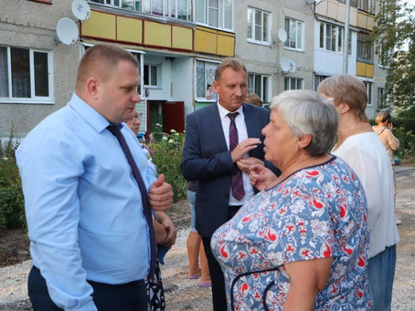 Вчера в селе Чулки-Соколово состоялась очередная   встреча руководителей городского округа с местным