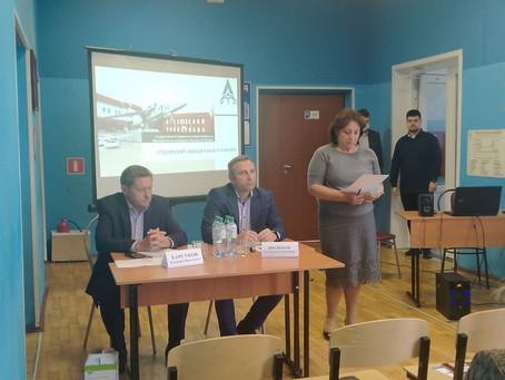Главный врач Луховицкой выступила на Совете директоров