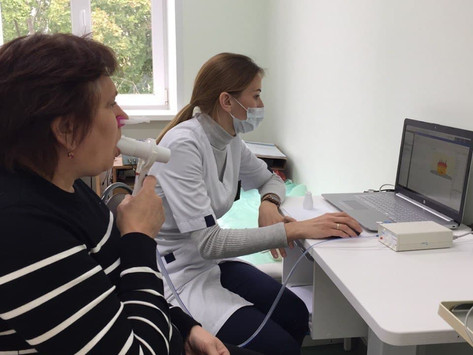 Аппараты для исследования функции дыхания поступили в Зарайскую больницу