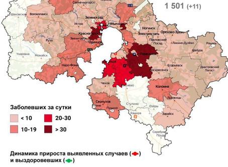За сутки 21 октября 2020 года в городском округе Луховицы выявлено 6 случаев заболевания ...