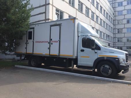 Выезд мобильного ФАПа.  28 августа состоится выезд врачебной бригады в с.Чулки-Соколово.