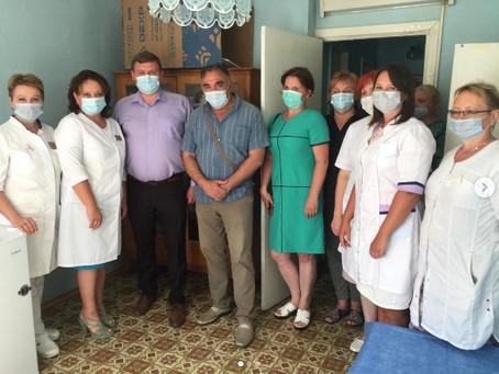 Вакцинацию от коронавируса можно пройти в сельской амбулатории