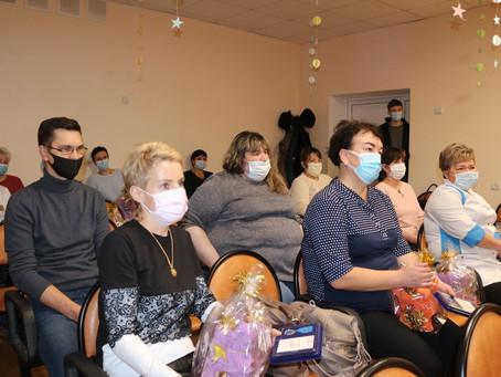 Медработников ЦРБ отметили «За заслуги в борьбе с пандемией COVID-19»