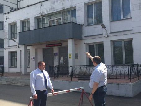 С рабочим визитом Зарайскую ЦРБ посетил заместитель председателя Общественной палаты МО