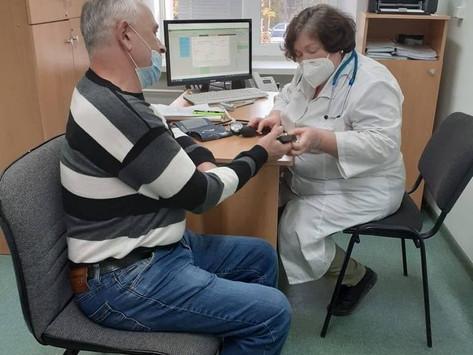 Вакцинация  пожилых.