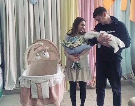 Поздравляем семью Санчес с рождением сына !
