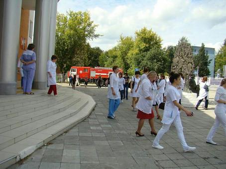 В поликлиниках Луховицкой ЦРБ прошли учения