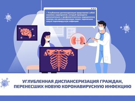 С 1 июля 2021года на территории России стартовала углубленная диспансеризация.