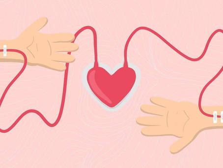 ♥️ Отдавать частичку себя могут не только влюбленные, но и доноры крови.