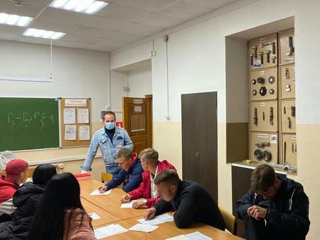 Учащиеся луховицкого авиационного техникума приняли участие в тестировании по наркозависимости